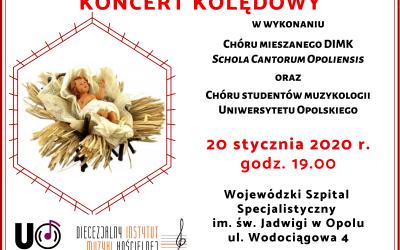 Koncert chóru muzykologii, 20.01.2020 r.