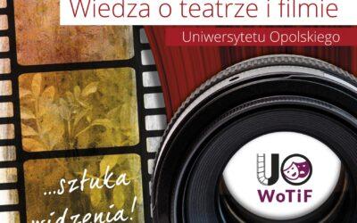 Na UO będzie nowy kierunek studiów – Wiedza o teatrze i filmie